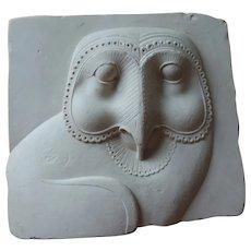 Metropolitan Museum Relief Plaque, Owl Hieroglyphic, 400-30 BC, Museum Store
