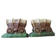 Covered Wagons, Salt and Pepper Shakers
