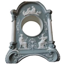 Blue Jasperware Clock Case