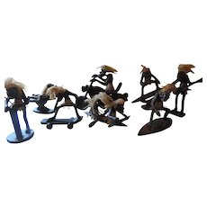 Surfer Collection, Grotesque Figurines, Set of 8