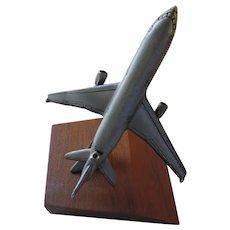 Sparta Pewter Paperweight, 3 Engine Passenger Jet