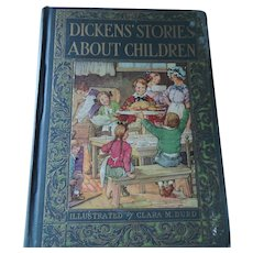 Dicken's Stories About Children, 1929, John C. Winston Co.