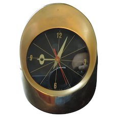 Jefferson 500 Bullet Clock, Mid Century