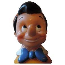 Disney Pinocchio Plastic Bank, 1971