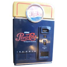 Pepsi Cola Vending Machine Bank