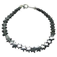 Shooting Stars Hemalyke And Swarovski Crystal Bracelet