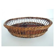 Oval Shape French Basket
