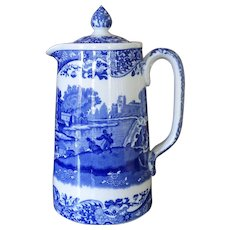 Copeland Spoke Italian Jug or Pitcher, Hot Water, Staffordshire