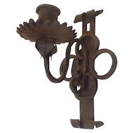 Antique Wrought Iron Sconce