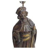 Vintage Italian Figural Table Lamp