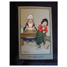 Adorable Ethel Parkinson Framed Post Cards, Children