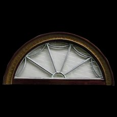 Antique Transom Window