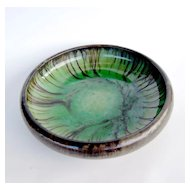 Fulper Matt Glazed Bowl, Art Nouveau