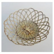 VintageTwisted Wire Basket