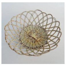 VintageTwisted Wire Basket