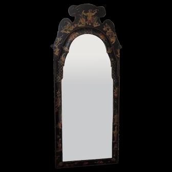 Antique English Chinoiserie Mirror