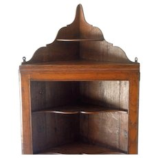 Antique Welsh Corner Cupboard