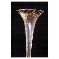 Fine English Antique Hand Blown Vase