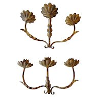 Pair of Vintage Fabulous French Sconces