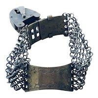 Antique Metal Dog Collar