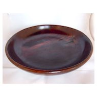 Antique Rosewood Bowl