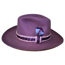 "Vintage Stetson ""The Gun Club"" Man's Hat"
