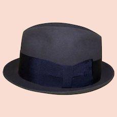 Vintage Rich Olive Green Man's Cavanagh Hat