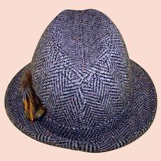 Vintage Pendleton Gentleman's Houndstooth Fedora
