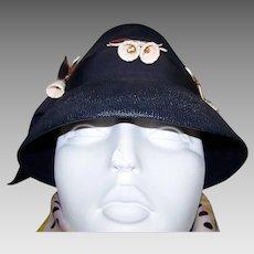Vintage Schiaparelli Ladies Hat