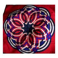 Vintage Lanvin Silk Scarf