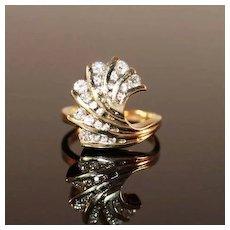 2/3 Carat Diamond and 14k Gold Ring