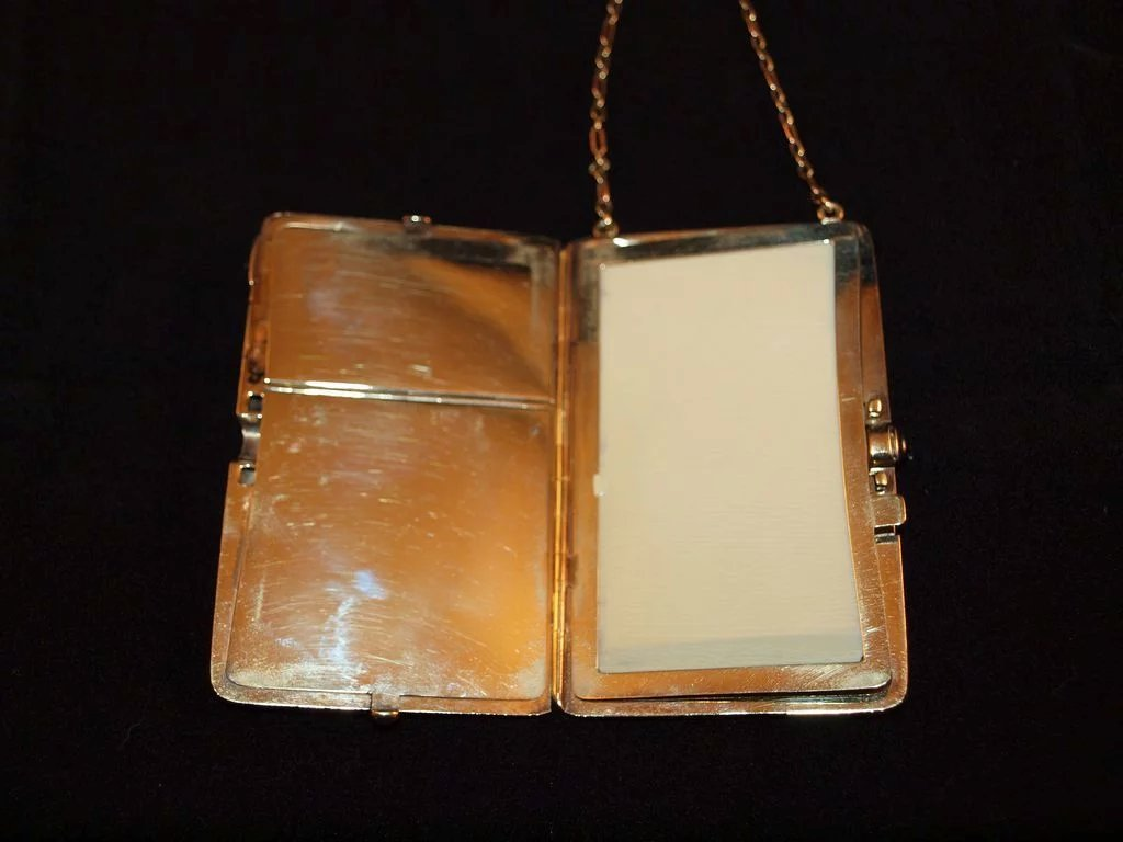 Art deco 14k rose and yellow gold necessaire cassandra 39 s for Deco maison rose gold