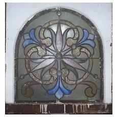 Victorian stained glass  Philadelphia window