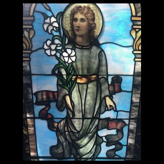 Exceptional stained glass window