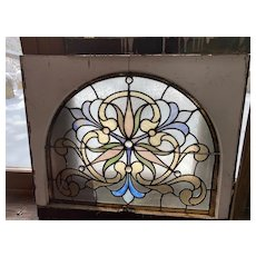 Victorian  Philadelphia stained glass window