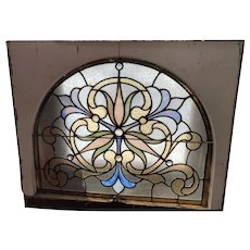 Victorian  Philadelphia stained glass window