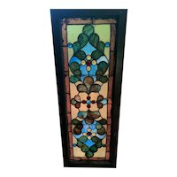 Nicely jeweled stained glass window