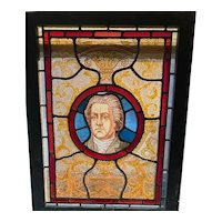 William Pitt stained glass window