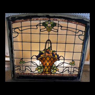 Wonderful 19th century fruit bowl window