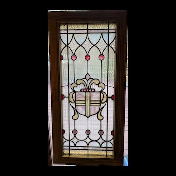 Fluted glass with jeweled accents