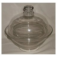 Soda Fountain Syrup Bowl With Cover