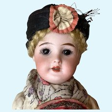 "8"" SFBJ 301 French Doll All Original"