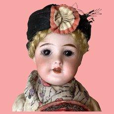 """8"""" SFBJ 301 French Doll All Original"""