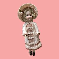 "21"" Doll Handmade Costume & Bonnet"