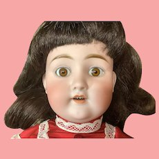 """23"""" Antique German Bisque 101 Mystery Doll"""