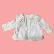 Beautiful Antique Jacket Fits Large Doll