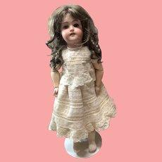 "18"" Antique Bisque Doll Simon Halbig Handwerck."