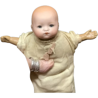 German Dream baby Armand Marseille All Original Rare Tiny Size