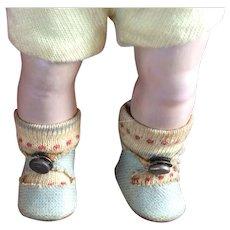 Darling Vogue Strung Ginny Boy Doll. Original Clothes. Center Snap Shoes