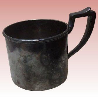 Vintage Silver Baby Cup Original Patina Derby Silver Company